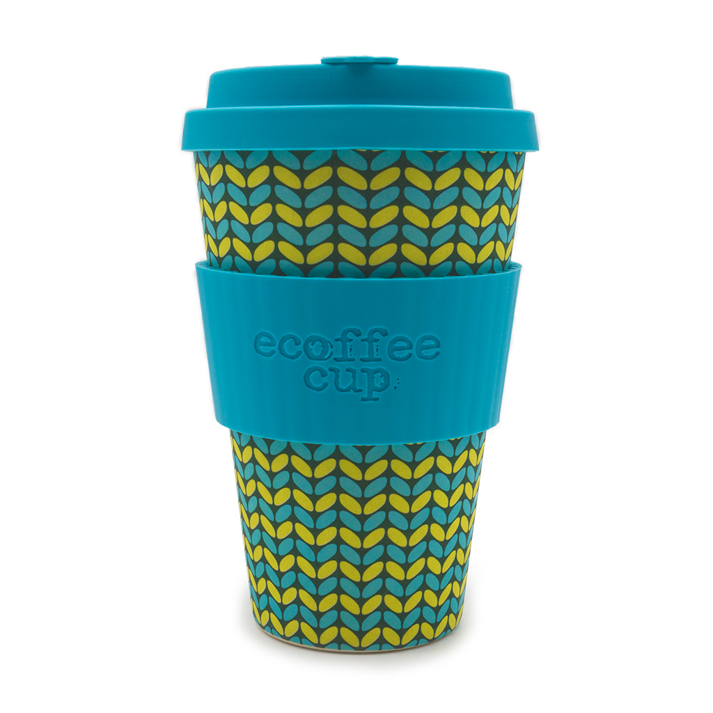 Ecoffee Bamboo Reusable Coffee Cup